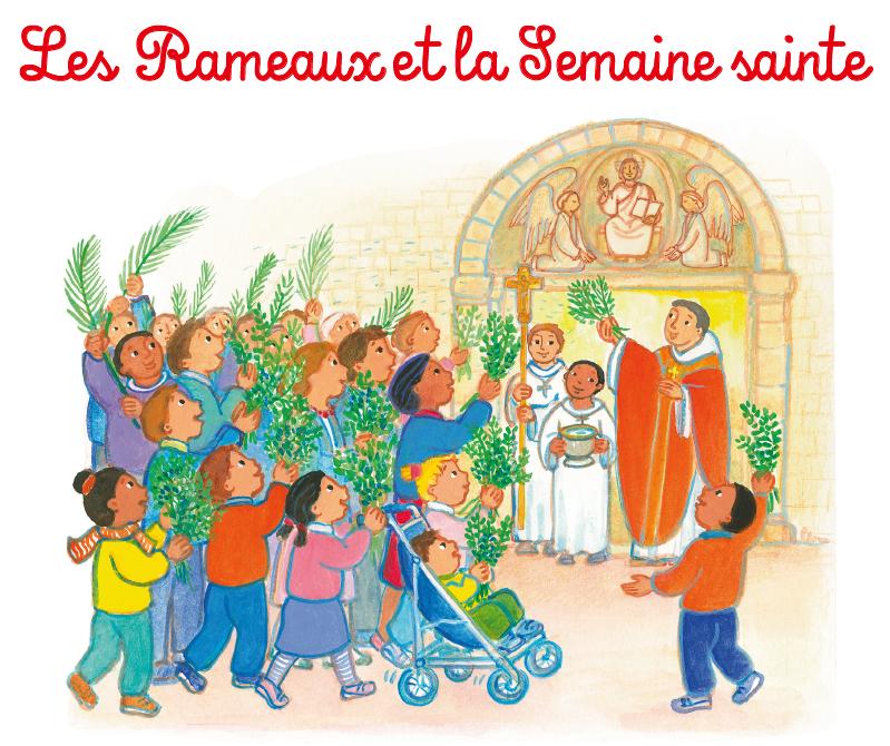 2 pages pour parler de la semaine sainte aux enfants !