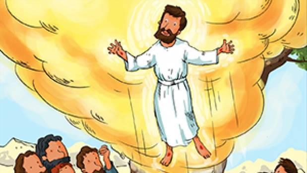 Bonjour les enfants, jeudi Fête de l'Ascension
