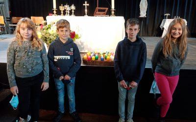 Fête de la rentrée – Demande de baptême de jeunes collégiens