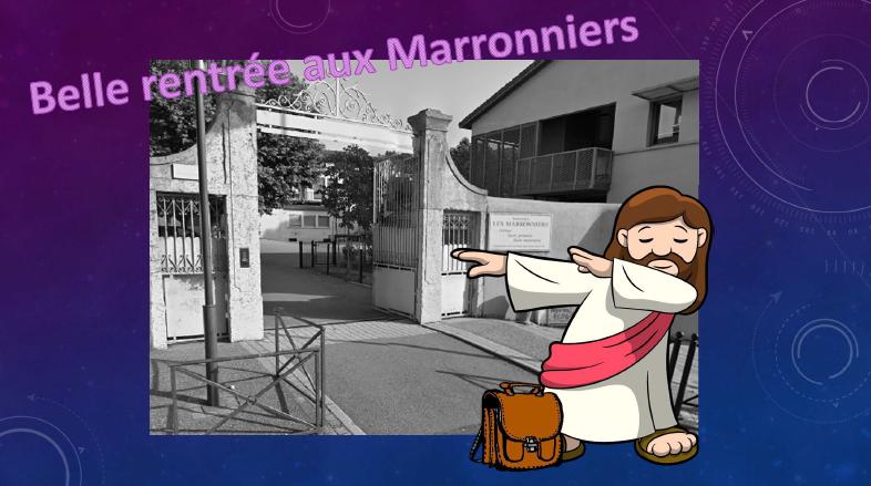 La rentrée pastorale au collège des marronniers