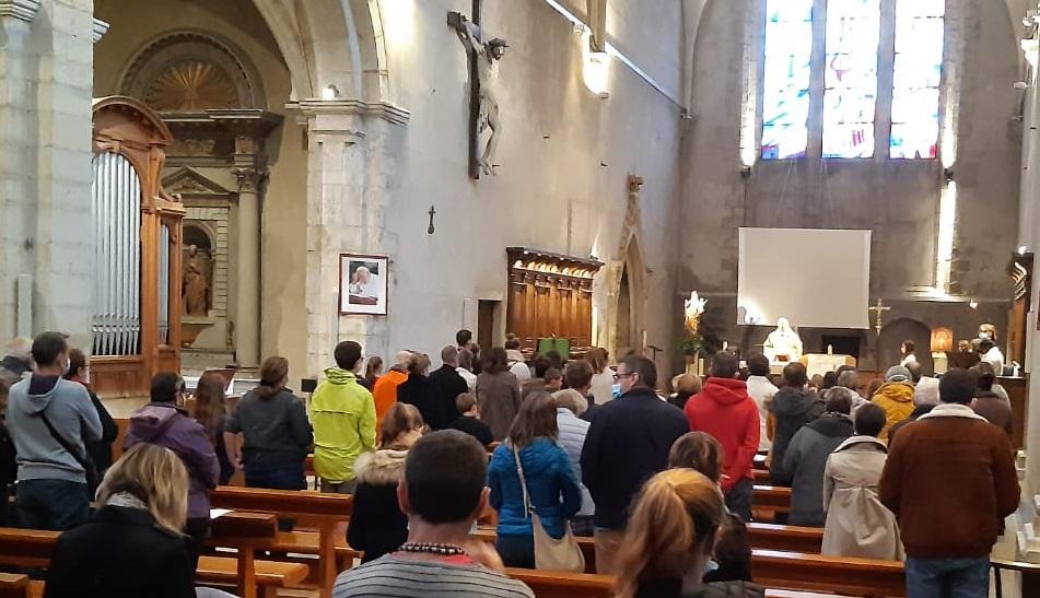 Résurrection de la messe des jeunes :-)