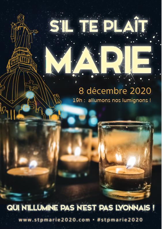 Illuminons pour Marie !