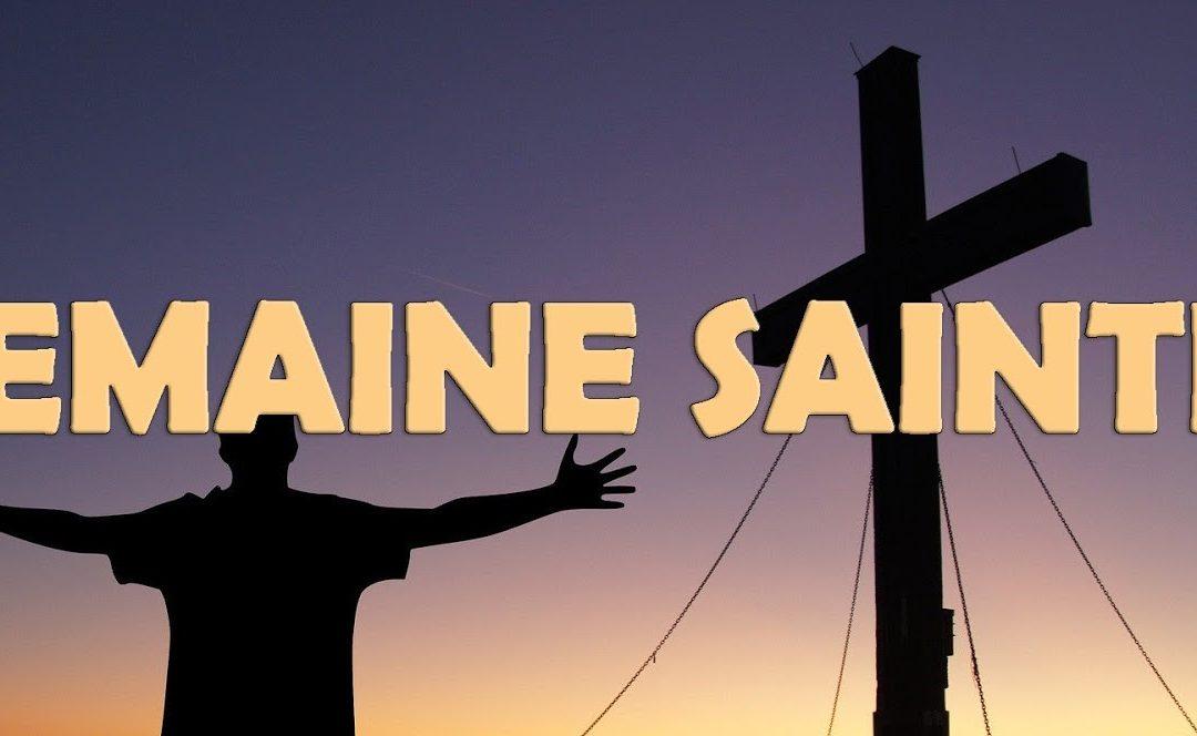 4 occasions de se recueillir durant la semaine sainte