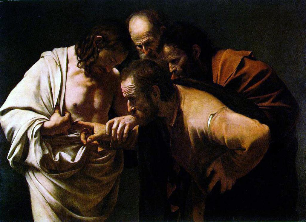 Clin d'œil du dimanche de la Miséricorde , avec l'Évangile de Jean