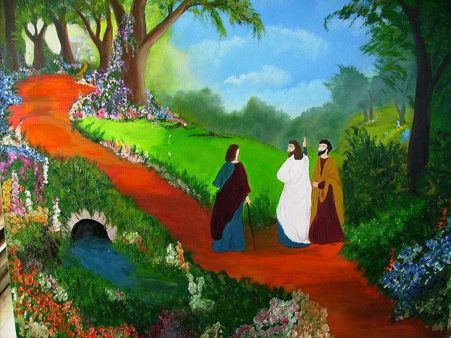 7ème Jésus ressuscité sur le chemin d'Emmaüs